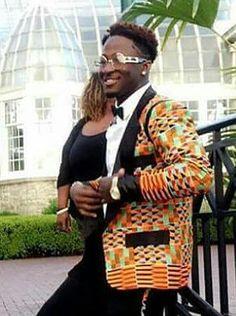 African Kente trendy blazer/African print blazer/African men's wear/custom made kente Blazer/ankara blazer/dashiki designed blazer