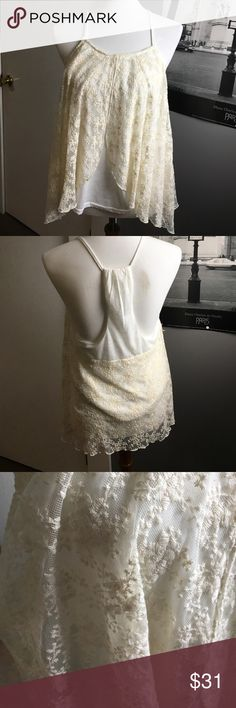Boutique Tank | NWOT | Never Worn | White Lace | Bought at a Boutique | Tops Tank Tops