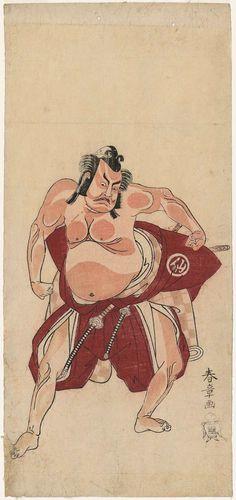 中村助五郎 なかむらすけごろう Nakamura Sukegorou. 勝川春章 かつかわしゅんしょう Katsukawa Syunsyou.