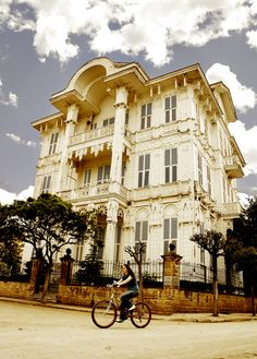 Traditional Mansion at Buyuk-Ada (Princess Islands), Istanbul -Turkey