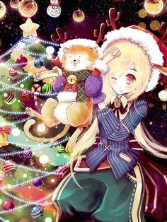 Merry Christmas.......💕🎄🎀💕🎄🎀🔥💛 #anime #animegirl #merrychristmas