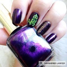 Lacquered Lawyer | Nail Art Blog: Tangled