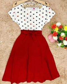 Aaah que vestido Fofo/Kawai/Cute😇❤ Cute Dress Outfits, Girly Outfits, Modest Outfits, Pretty Outfits, Cute Dresses, Vintage Dresses, Casual Dresses, Vintage Outfits, Cool Outfits