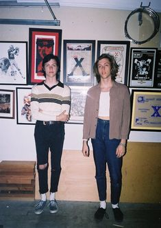 Meet Hedi Slimane's Latest Crush: Twin Brothers, The Garden | NOISEY