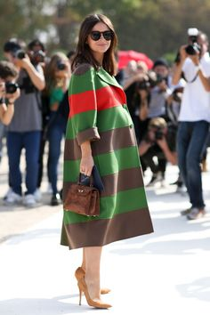 23 Ways to Pull Off Rainbow Stripes Like a Street Style Star | StyleCaster