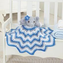 Stella Lovey Blanket- Free Pattern from WillowYarns.com -Stella will comfort little ones when they snuggle up with this delightful lovey that combines a cuddly plush friend with a beloved security blanket!