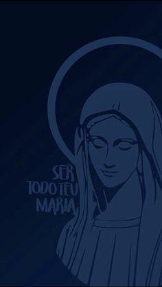 God Loves Me, Jesus Loves Me, Catholic Wallpaper, Jesus Art, Blessed Mother Mary, Biblical Art, Holy Mary, Catholic Art, Virgin Mary