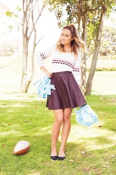 go team! {Lauren Conrad's August Kohl's Collection}