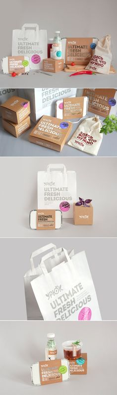 Restaurant To-Go Packaging That's As Fresh As The Food via The Dieline