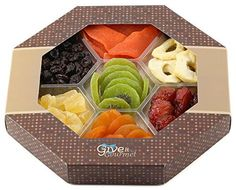 GIVE IT GOURMET, Assortment Dried Fruits Basket (7 Section) - Array of Organic Delicious Dried Fruit for Holidays Snack | Large Healthy Gift Basket - http://mygourmetgifts.com/give-it-gourmet-assortment-dried-fruits-basket-7-section-array-of-organic-delicious-dried-fruit-for-holidays-snack-large-healthy-gift-basket/