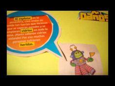 #video comic #moocarteytic video para niños sobre las consecuencias de la caída de un meteoro.