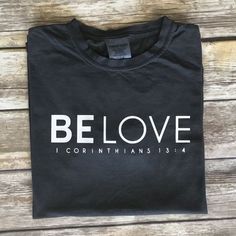 Items similar to Mission Trip T-shirt, Comfort Colors, Be Love, Fundraiser on Etsy Christian Clothing, Christian Shirts, T Shirt Original, Jesus Shirts, Travel Shirts, Vinyl Shirts, Comfort Colors, Shirts With Sayings, Swagg