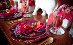 Indian theme - table setting