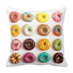 Donuts Pillow - march 22