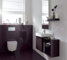 Gut Keramag Gästebad. Das Moderne, Geradlinige Design Von ICon Xs Unterstützt  Eine Klare Raumarchitektur.