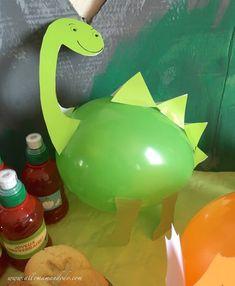 ideas diy dco anniversaire enfant for 2019 Dinasour Birthday, Dinosaur Birthday Cakes, Dinosaur Party, Birthday Diy, Birthday Party Decorations, Birthday Ideas, Toddler Crafts, Preschool Crafts, Ballon Diy