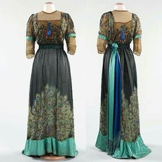Evening gown by Weeks, Paris c. 1910
