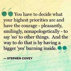 Love Steve Covey. Brilliant man.