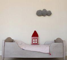 Almofada na parede.