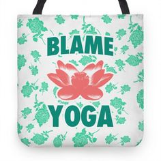 Blame Yoga. Blame Yoga for all this. If you're a proud doer of yoga and your temple shows it, this shirt is perfect for you.
