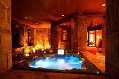 Indoor hot tub room.. yes, Please! | Pools & Baths | Pinterest | Hot ...