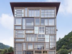WAN Sustainable Buildings Award 2016 winner, Kamikatz House by Hiroshi Nakamura & NAP, Kamikatsu architecture, zero waste architecture, zero waste building in Japan