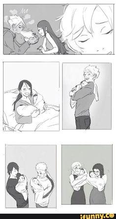 Do you guys not see how precious it would be if Boruto and Sarade got married and had children? Sarada(fully smiling): I'm pregnant. [Boruto spits out his ramen] Naruto Uzumaki, Boruto And Sarada, Naruto Gaiden, Naruto And Sasuke, Naruhina, Shikamaru, Couples Anime, Naruto Couples, Couple Naruto