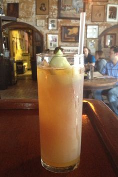 Napoleon House in the French Quarter is one of the best places to get a Pimm's Cup in New Orleans.