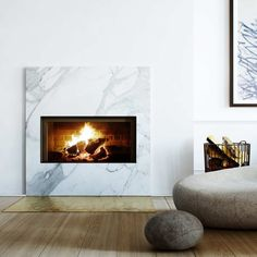 Simplest fire surround