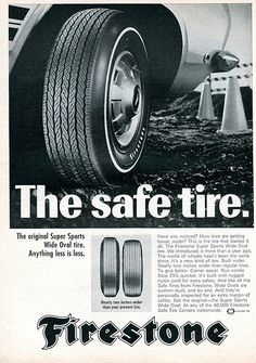 1968 Firestone Wide Oval Tire Advertising Road & Track May 1968 | Flickr - Photo Sharing!