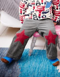 I've spotted this @BodenClothing Baby Star Patch Pants