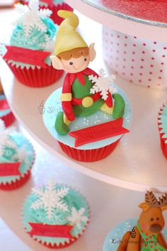 My Cute Elf 1 by Little Cottage Cupcakes, via Flickr