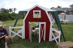 Create a barn door entrance!!