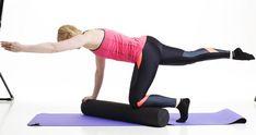 Helpota selkäkipuja pilatesrullan avulla | Me Naiset Kuroko, Pilates, Health Fitness, Pop Pilates, Health And Wellness, Health And Fitness, Pilates Workout, Excercise