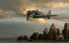 (1) Ron Cole's Aviation Art