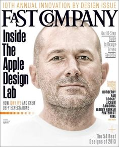 Cover Page of Fast Company Magazine - Inside the Apple Design Lab