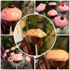 Cupcakes pops!