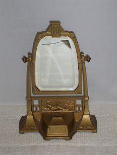 Art Deco mirror from a neighborhood-wide yard sale