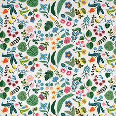 Mille fleurs bomull by Svenskt Tenn