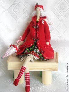 Куклы Тильды ручной работы. Ярмарка Мастеров - ручная работа Кукла Тильда Осенний Ангел. Handmade.