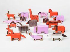 Cardboard Zoo by Robert Czajka