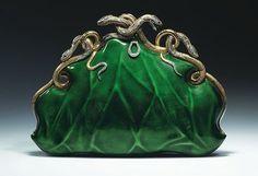 darksilenceinsuburbia: Aloisia Rucellai: Evening bag, c. 1968