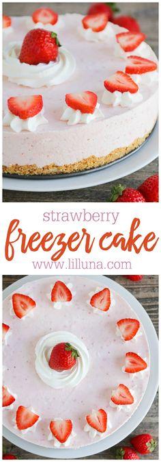 Strawberry Freezecak