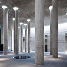 Interior of Crematorium Baumschulenweg Shultes Frank Architekten 2000