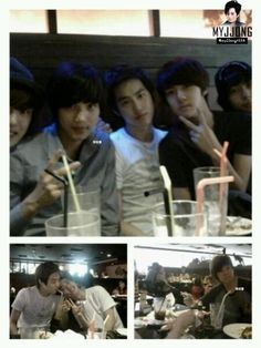 Pre-debut Chanyeol Kai Suho Sehun D.O Xiumin Cr: myjjong Exo Kokobop, Exo 12, Baekhyun Chanyeol, Exo Facts, Exo Lockscreen, Nct Johnny, Kaisoo, Exo Members, K Idols