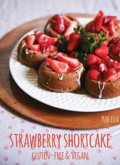 STRAWBERRY SHORTCAKE recipe from http://pureella.com/strawberry-shortcakes-gluten-free-and-vegan-dairy-free-wheat-free-egg-free/.
