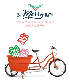 You can win a @madsencycles cargo bike today on @studiodiy -SO GOOD! #24merrydays #giveaway http://www.studiodiy.com/2014/12/10/24-merry-days-madsen-cycles-giveaway/