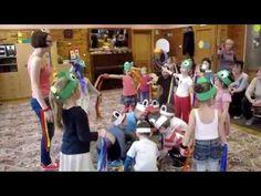 Zabawy integracyjne w przedszkolu - YouTube