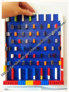 Pinball or Marble Drop Game. Make it with Lego Bricks - stac.- Pinball or Marble Drop Game. Make it with Lego Bricks – stack them 3 or 4 high. Pinball or Marble Drop Game. Make it with Lego Bricks – stack them 3 or 4 high. Lego Club, Easy Preschool Crafts, Preschool Activities, Lego For Kids, Diy For Kids, Legos, Deco Lego, Diy Pour Enfants, Lego Challenge