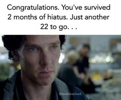 22 months of a fandom waiting patienahahah okay I couldn't even say it. XD